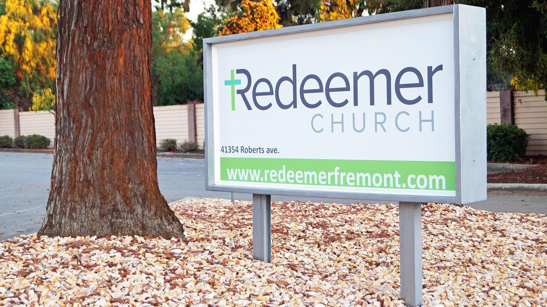 Redeemer sign edited edited